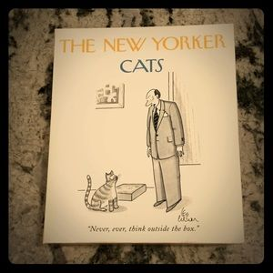 🐈 The New Yorker CATS Vintage Blank Note Cards